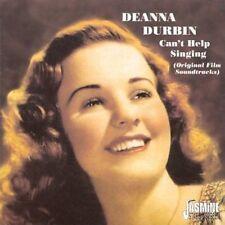Deanna Durbin - Can't Help Singing [New CD]