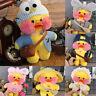 "12"" Lalafanfan Cafe Mimi Duck Costume Plush Toy Stuffed Doll Xmas Kids Gift"