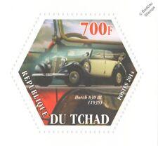 1939 Horch 830 BL CABRIOLET CLASSIC Automobile Auto (esagonale) TIMBRO