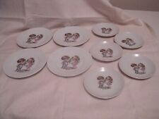 Children's Doll Plates Miniature Made in Japan