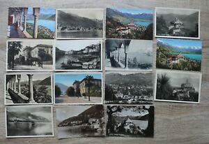 Posten 19 AK Schweiz 1905-50 Locarno Häuser Ortsansicht Mdonna del Sasso Wege