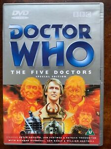 Doctor Who The ive Doctors DVD 1983 Classic BBC Sci-Fi TV Series w/ Jon Pertwee