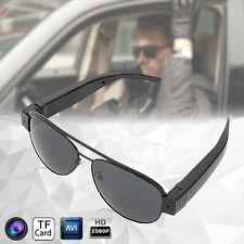Full HD 1080P Glasses Spy Hidden Camera Sunglasses Eyewear DVR DV Video Recorder