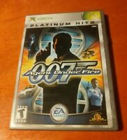 James Bond 007 Agent Under Fire Microsoft XBOX EA Games Electronic Arts