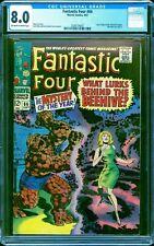 Fantastic Four #66 CGC 8.0 -- 1967 -- Origin of Him (Warlock) begins #2038774007