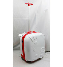 Hello Kitty Signature Hard Shell ABS Trolley Carry On Luggage/Suitcase White