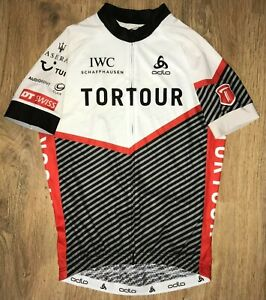 Tortour Odlo Switzerland Swiss RARE cycling jersey size M - Excellent condition
