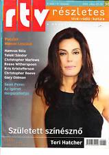TERI     HATCHER    Hungarian magazine