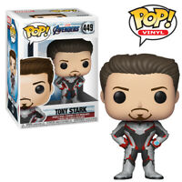Iron Man Tony Stark Avengers Endgame Official Marvel Funko Pop Vinyl Figure