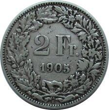 Schweiz 2 Franken 1905 B , Stehende Helvetia