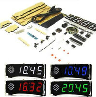 Voice Version DIY Electronic Clock Kit 51 SCM Digital LED Clock Set YD-030