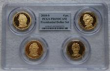 2010-S Presidential Dollar Set PCGS PR69DCAM