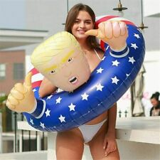 Trump 47' Swimming Float Inflatable Pool Raft Float Beach Party April Fool