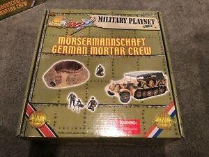 The Ultimate Soldier Military Playset Morsemannshaft German Mortar Crew