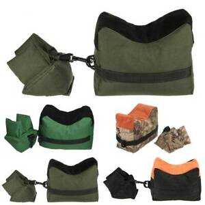 Front & Rear Rifle Air Gun Sand Bags Bench Rear Rest Hunting Targets Shooting