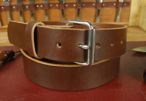 "1 3/4"" Heavy Duty Leather Work CCW Gun Holster Tool Belt Amish Handmade 1.75"""