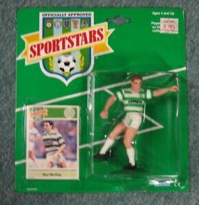 Paul McStay Celtic FC 1989 Sportstars Action Figure Kenner, Mint on Card