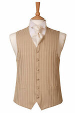 Polyester Striped Big & Tall Waistcoats for Men