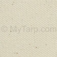 """10 oz Natural Cotton Duck Canvas Fabric by the Yard - 60"""" x 1 Yard - Brand New"""
