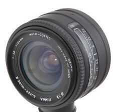 SIGMA 24mm f2.8 super-wide II AF SLR wide angle lens Minolta A 35mm film camera