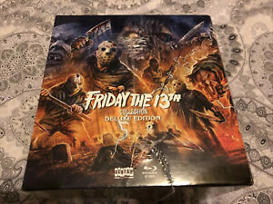 FRIDAY THE 13TH ULTIMATE SCREAM FACTORY DELUXE 16 BLU-RAY COLLECTION REGION A