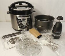 Tristar Power Pressure Cooker XL 6 Qt 1000W,-Bonus Power Chopper XL, Canning NEW