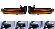 Smoked Side Mirror Sequential Dynamic Turn Signal Light Mercedes W204 W212 SP5