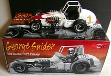 GEORGE SNIDER # 1 MVS FORD VINTAGE DIRT CHAMP RACE CAR GMP 1:18 DIECAST ACME