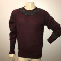 MEN'S VINTAGE 1990's POLO RALPH LAUREN THICK-HEAVY WOOL  SWEATER Large
