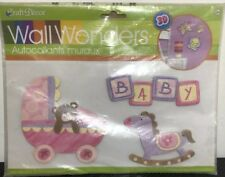 Wall Wonders Craft Decor 3D Baby Room Nursery Appliques *NEW! FAST SHIPPING!