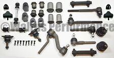 DELUXE Front End Suspension Rebuild Kit Tie Rods+Idler Arm 1970-74 Chevy II Nova