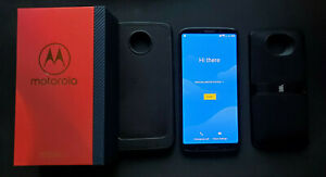 Motorola Moto Z 3rd Generation - 64GB - Ceramic Black (Verizon) + JBL Speaker