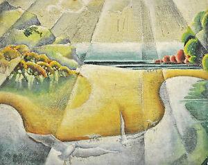 NOEL RUBIE (1901-1973) RARE Oil 1940 Modern Grace Cossington Smith Dorrit Black