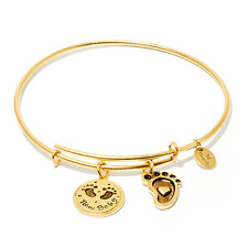 Chrysalis New Baby Expandable Bangle in 14k Gold Plate, CRBT0714GP