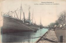 More details for merannio starleyhall steamers ship boat tennay-charente port postcard
