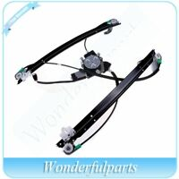 Front Driver Side Window Regulator with Motor Fits 01-03 Chrysler Town & Country