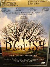 Big Fish Dvd Tim Burton(Dir) 2003 Mint Condition Factory Sealed Never Opened