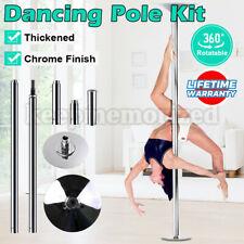 Portable Stripper Dance Pole Dancing Spinning & Static Dancer Powertrain Fitness