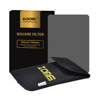 Zomei 150mm x100mm Full Color Square Neutral Density ND4 Filter for Cokin Z