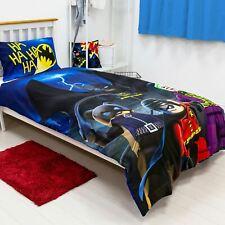 Lego DC Superheroes Batman Single Bedding Set Kids Two-sided Duvet Cover