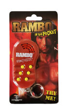 Rambo Sylvester Stallone in your Pocket Talking Official Keychain Keyring