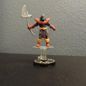 Heroclix  Marvel Critical Mass TERRAX Unique Silver Ring Figure Near Mint