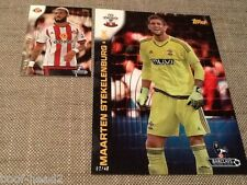 Maarten Stekelenburg Southampton /49 Topps Premier Gold 2015 5x7 art card #91