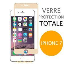 iPhone 7 VERRE TREMPE OR Film de protection Intégral Total écran 4.7
