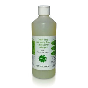 Natural and Ecological Washing-up Liquid and Dishwasher Detergent