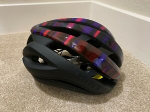 Giro Aether Spherical Helmet Matte Black / Electric Purple Large MIPS