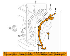 VOLVO OEM 10-12 XC60 Rear Seat Belt-Outer Assy Right 39801842