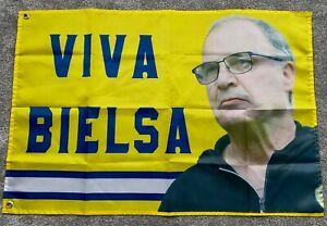 VIVA BIELSA LEEDS UNITED SOUVENIR FOOTBALL SUPPORTERS FLAG 3x2 (90cm X 60cm)