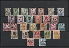 1944-1960 - Lot de timbres pour petits colis, oblitérés  (05-068.17)