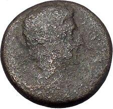 AUGUSTUS 27BC Thessaly Koinon Larissa ATHENA Authentic Ancient Roman Coin i47246
